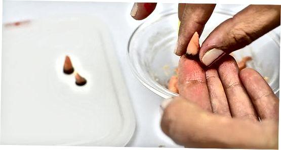 Dekoravimas Turkijos keksiukais naudojant saldainius