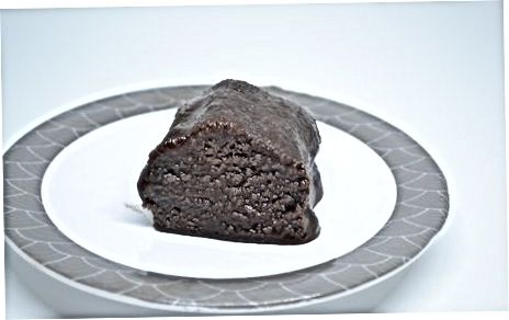 Frysting og þíðandi fudge