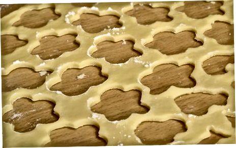 Cookie shakllarini kesib oling