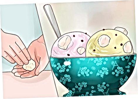 Përdorimi i brumit të papjekur të cookie-ve