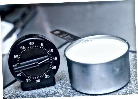 Fazendo leitelho a partir de leite e vinagre