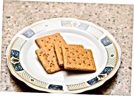 Graham Cracker pishloqli sendvich