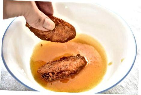 오븐에서 뜨거운 날개 만들기