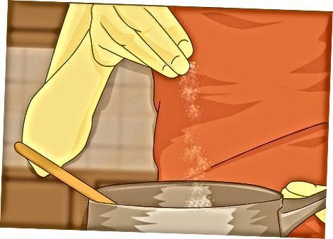 Adicionando algum sabor a um molho suave