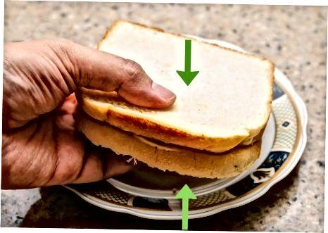 Gegrilde Strawberry Cheesecake Sandwich