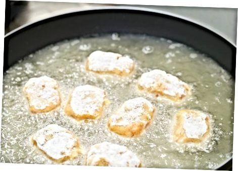 Croquetes de presunto e queijo