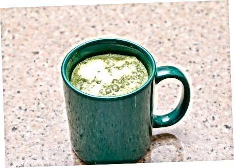 Gorąca zielona herbata Latte (wersja tradycyjna)