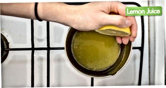 Eritilgan sariyog 'sosini tayyorlash
