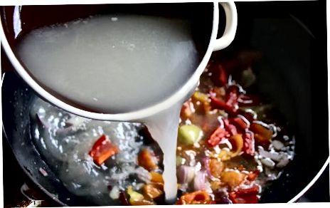 Gemüse kochen