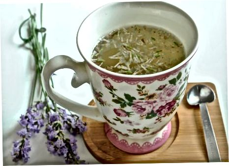 Samo sivkin čaj
