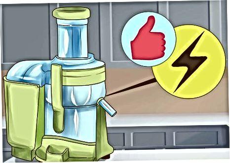 Izbira centrifugalnega sokovnika