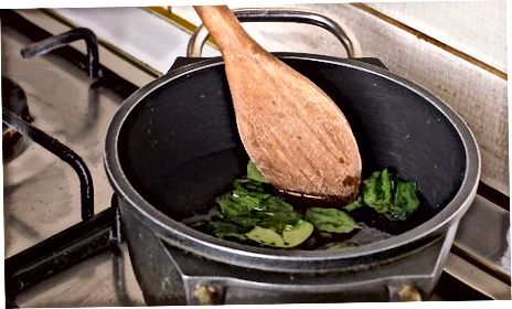 آشپزی اسفناج تازه کودک