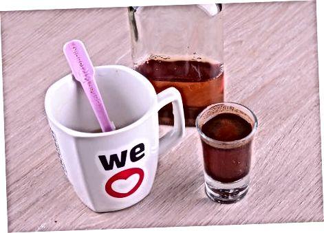 מכין קפה אירי שוקולד