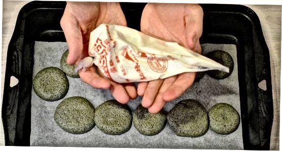 De macarons bakken en afmaken