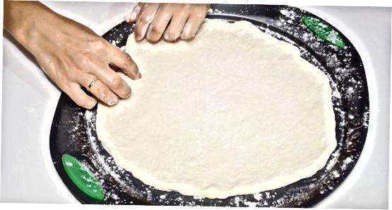 Pizza toshini va xamirni o'qish