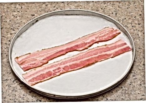 Pečenje rjavega sladkorja Turčija slanina v pečici