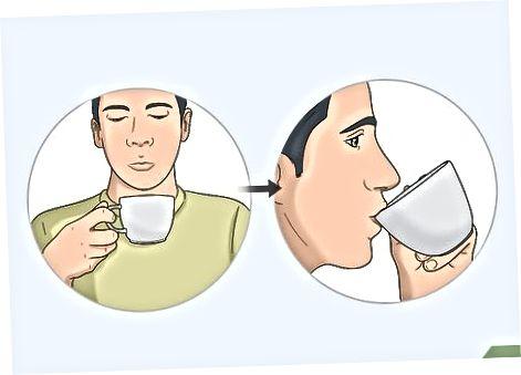 Kaffee abkühlen lassen