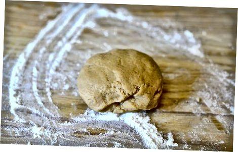 הכנת הבצק ללא גלוטן