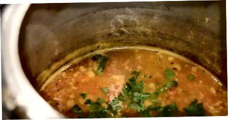 Schnellkochtopf Chana Dal machen