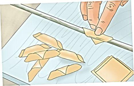 მაკარონის ფორმირება