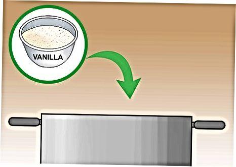 Fazendo sorvete vegano com leite de coco