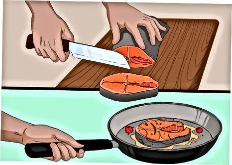 Gatim Salmon me salce Sorrel