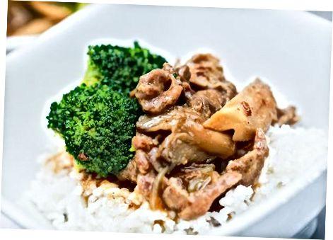 Израда јела од пуног меса