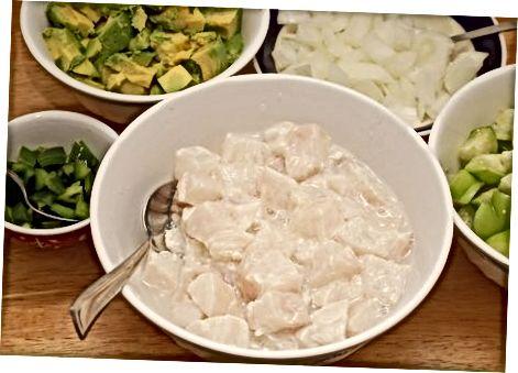 Heilbutt Ceviche