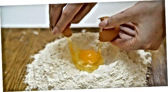 Приготування тіста з равіолі