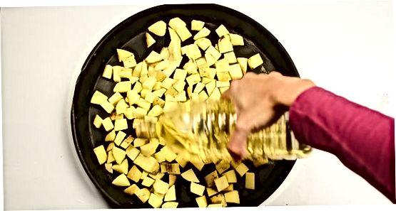 Готування кубиків картоплі