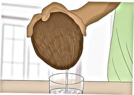 Ngrënia e kokosit të papërpunuar