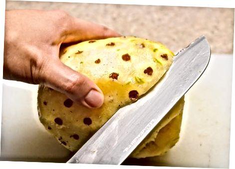 Ananaso paruošimas