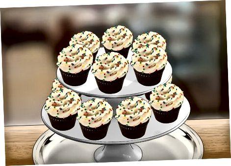 Kek uchun kek stakanlari darajasi
