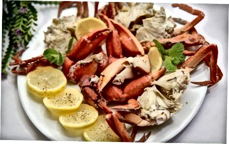 Die Krabbe kochen