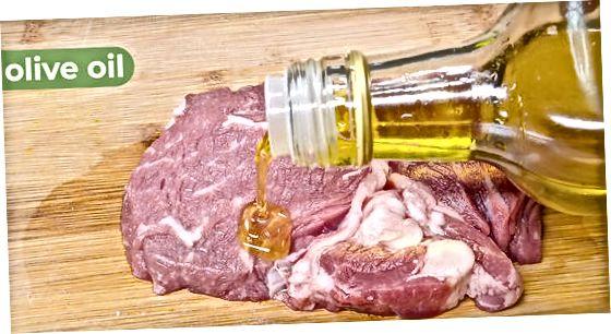 Izdelava goveje srčne enolončnice