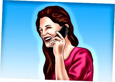 Duke ftuar mysafirë përmes telefonit