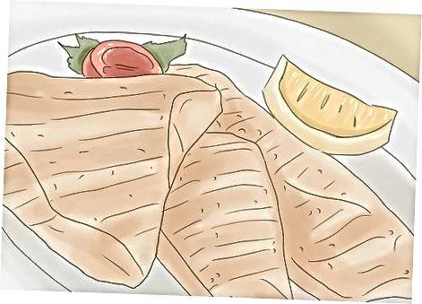 چیدن غذاهای سرخ شده