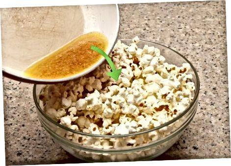 Gaminimas iš saldaus sviesto kukurūzų