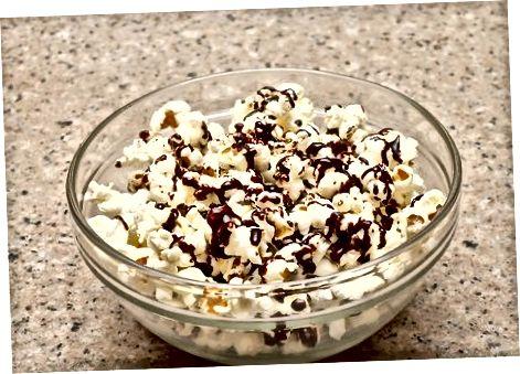Gaminame šokoladinius kukurūzus