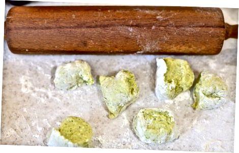 Groene tortilla's maken met koriander