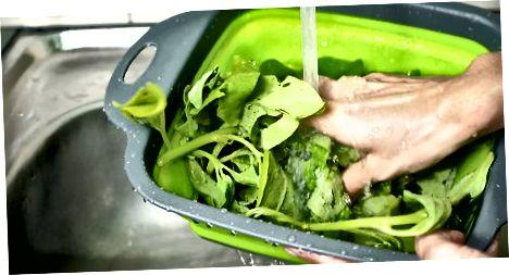Мұздатылған таза шпинат