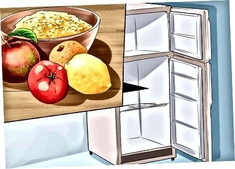 Armazenando suas refeições com segurança