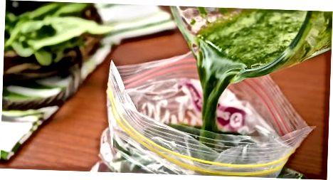 Zmrazený špenát