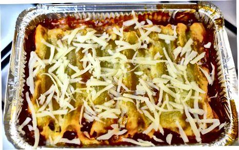 De Cannelloni monteren