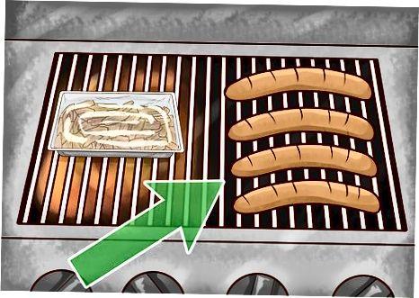 Кување на гасном роштиљу