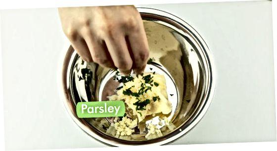 Pasigaminti tepamą česnakų sviestą