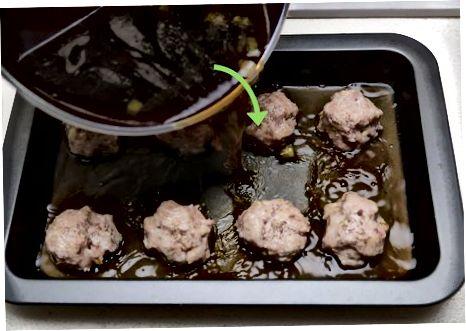 Keptų saldžių ir rūgščių kotletų gaminimas