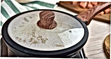 2 būdas: Vištienos kepimas keptuvėje