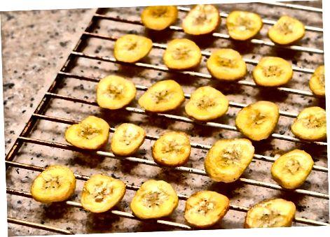 Chips oder Wedges in einem Ofen