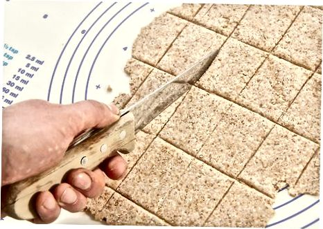 Making Peppered Rosemary Crackers